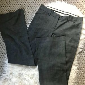 { theory } MAXC Pin Dot Wool Stretch Trouser